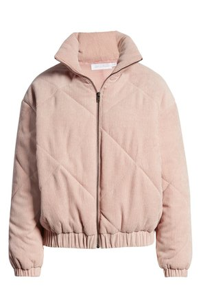 All in Favor Quilted Corduroy Bomber Jacket | Nordstrom