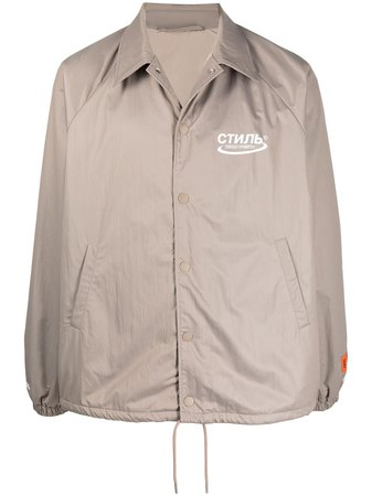 Shop Heron Preston lightweight logo print jacket with Express Delivery - Farfetch