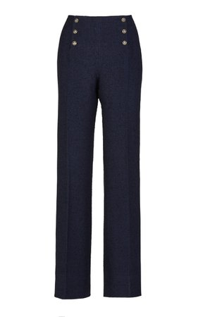 Giuliva Heritage Collection Sailor Linen Cotton Blend Trousers