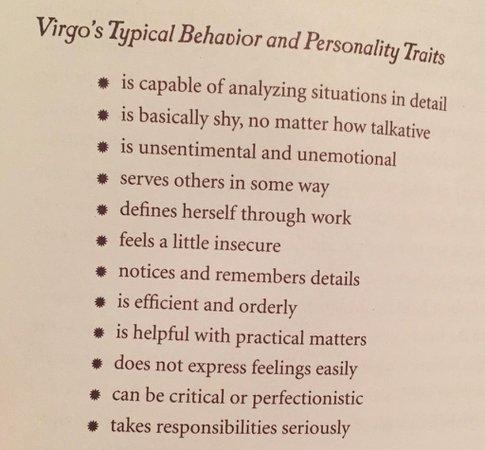 personality traits virgo – RechercheGoogle