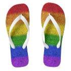 Gay Pride Flip Flops | Zazzle.com