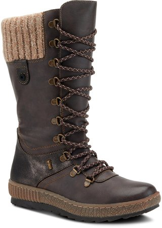 Chibero Faux Shearling Lined Water Resistant Boot