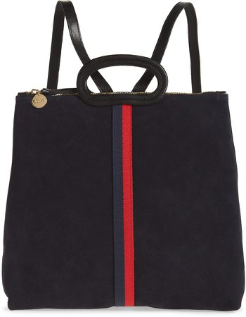 Marcelle Suede Tote Backpack