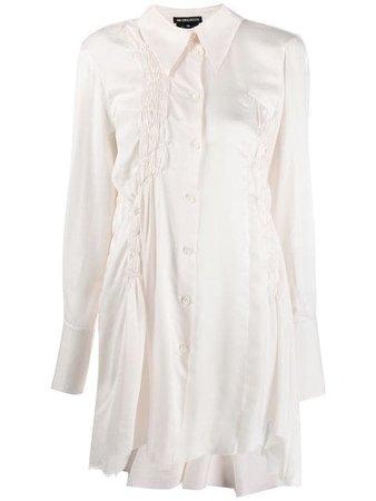 Ann Demeulemeester Long Asymmetric Shirt - Farfetch