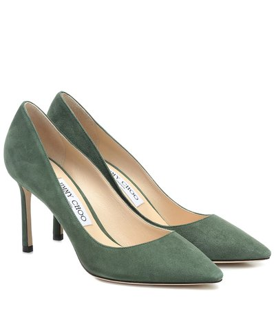 Jimmy Choo - Romy 85 suede pumps | Mytheresa
