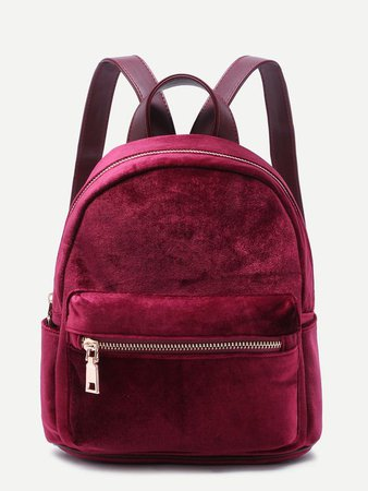maroon and black backpack cute - Google Search