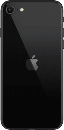 black iPhone SE
