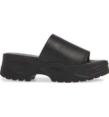 Topshop Volt Platform Slide Sandal (Women) | Nordstrom