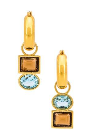 Lizzie Fortunato Lilia Earrings in Multi | REVOLVE
