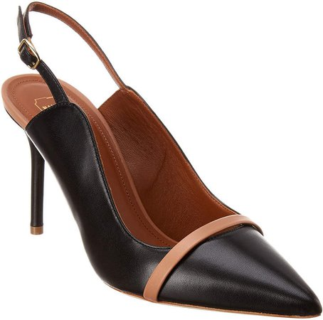 Marion 85 Leather Slingback Pump