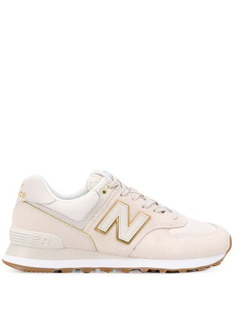 New Balance Panelled Sneakers - Farfetch