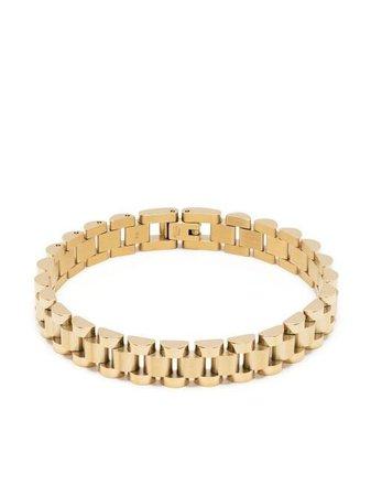 Shop gold AMBUSH Rollie chain bracelet with Express Delivery - Farfetch