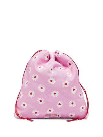 Daisy-print drawstring make-up bag | Miu Miu | MATCHESFASHION.COM