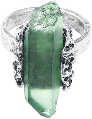 Earth Element Crystal Ring | Fashmates.com