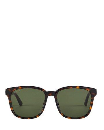 Gucci | Oversized Wayfarer Sunglasses | INTERMIX®