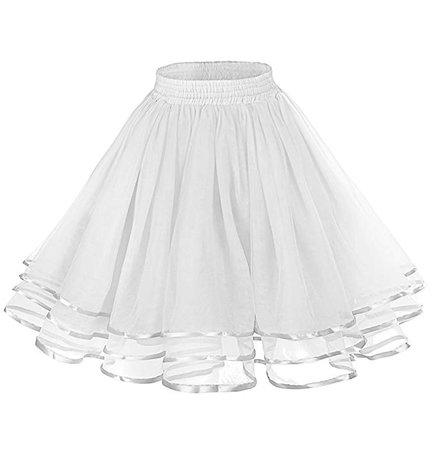Amazon.com: LaceLady Women's Vintage Petticoat Tutu Underskirt Crinoline Dance Slip Belt: Clothing