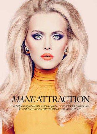 Mane Attraction ~ Dramatic Hair & Makeup Editorial - Asian Wedding Ideas