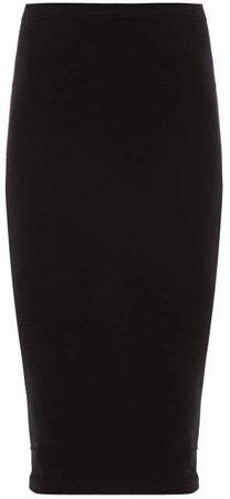 Fatal Midi Skirt - Womens - Black