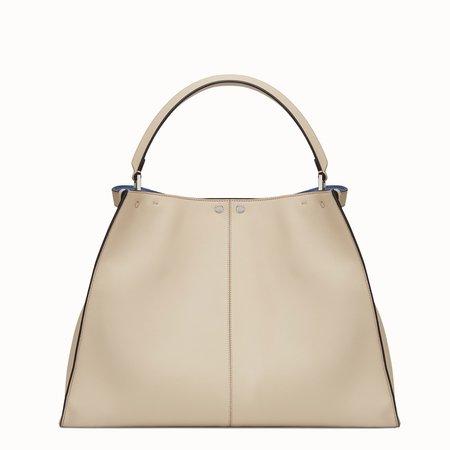Beige leather bag - PEEKABOO X-LITE   Fendi