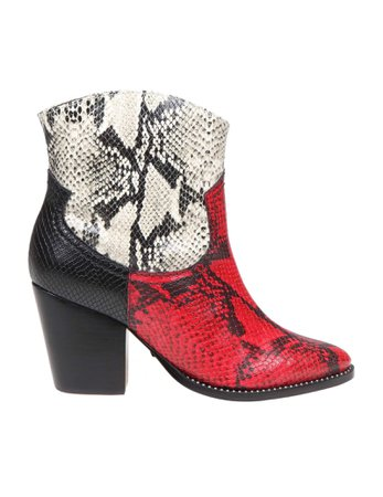 Schutz Texano Boot In Leather Color