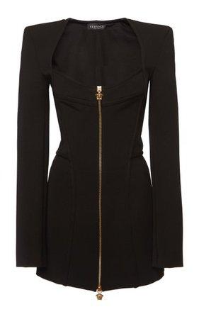 Jersey Evening Jacket Dress By Versace | Moda Operandi