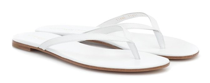 GIANVITO ROSSI White Sandals