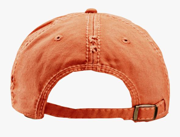 Backwards Orange Snapback