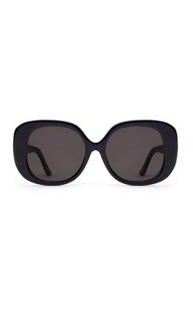 Velvet Canyon The Rendezvous Oversized Square-Frame Sunglasses