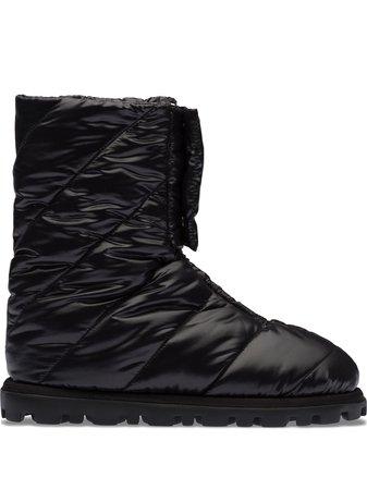 Miu Miu panelled ankle boots - FARFETCH