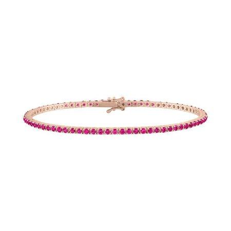 Colored Stone Tennis Bracelet – Stephanie Gottlieb Fine Jewelry
