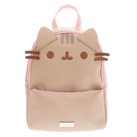 Pusheen® Mini Backpack - Beige | Claire's