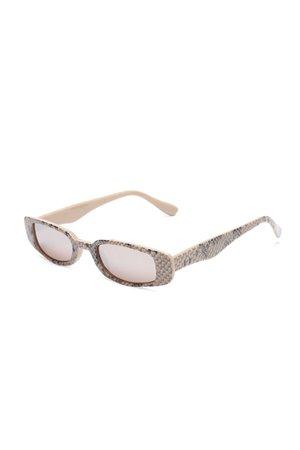 Be Careful Sunglasses - Brown – Fashion Nova