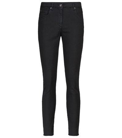Brunello Cucinelli - Mid-rise skinny jeans   Mytheresa