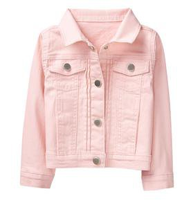 Just Jeans Girls Pink Denim Jacket
