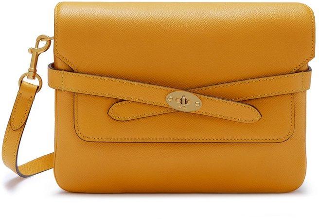 Bayswater Belted Leather Shoulder Bag
