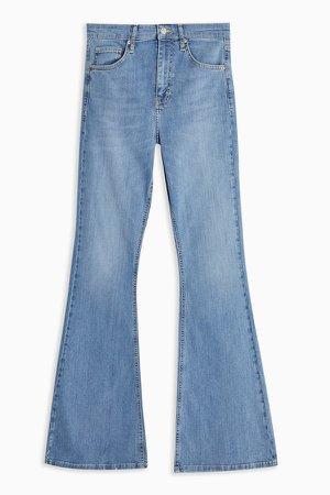 Bleach Wash Jamie Flare Skinny Jeans