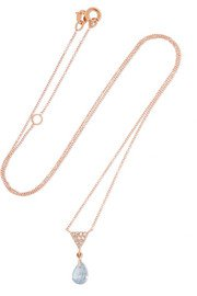 Piaget | Possession 18-karat rose gold, lapis lazuli and diamond necklace | NET-A-PORTER.COM