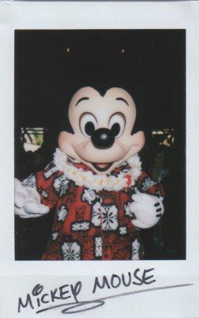 Mickey Mouse Polaroid