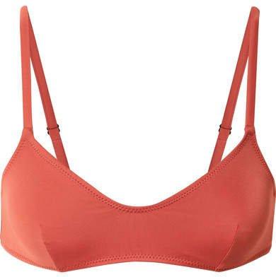 Rachel Bikini Top - Coral
