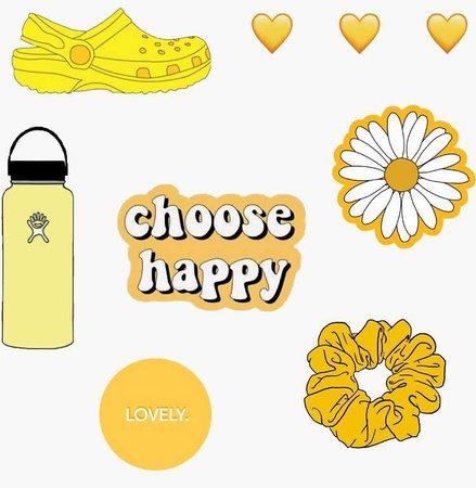 yellow VSCO