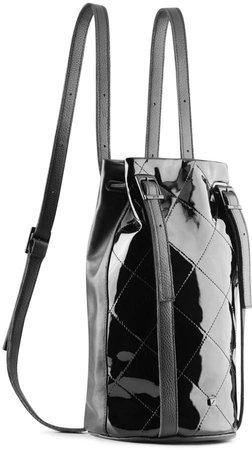 Maria Maleta - Drawstring Backpack Black