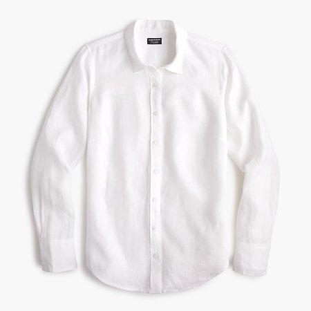 J.Crew Slim Perfect Irish Linen Shirt