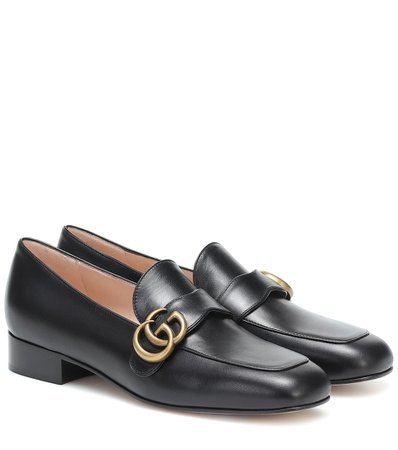 Gucci - Leather loafers | Mytheresa