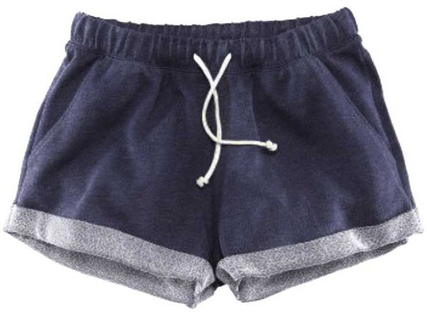 navy pyjama shorts