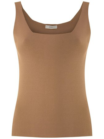 Shop brown Egrey knit tank with Express Delivery - Farfetch