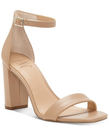 INC International Concepts INC Women's Lexini Two-Piece Sandals, Created for Macy's & Reviews - Sandals - Shoes - Macy's