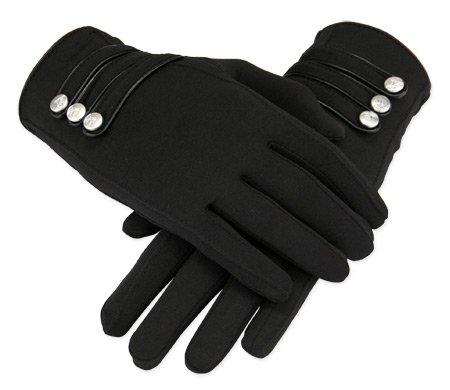 Papillon Gloves - Black