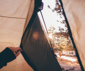 60 images about camping in the woods on We Heart It | See more about nature, indie and vintage