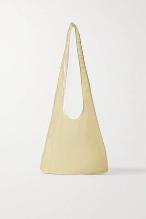 Bindle Mesh Shoulder Bag - Beige
