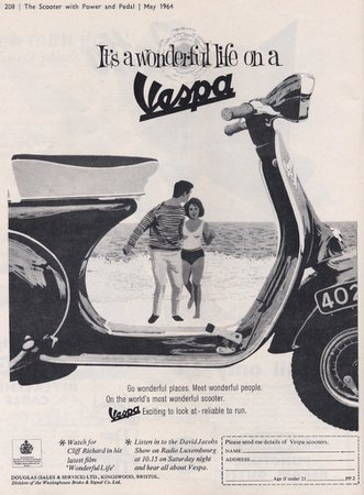 1960s Vespa Sportique ad 2 | 1960s Vespa Sportique ad | Flickr
